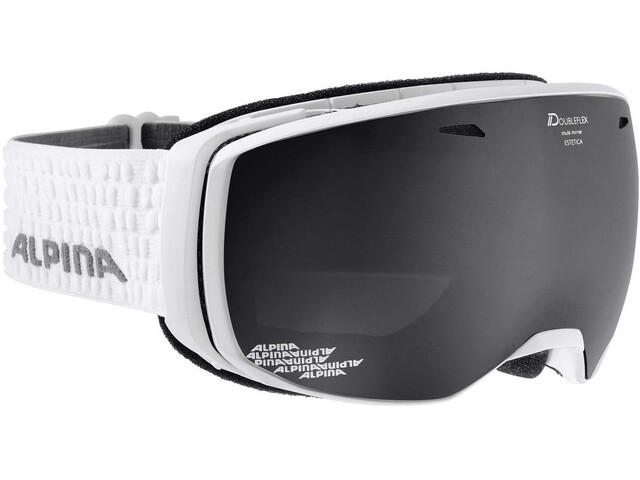 Alpina Estetica Goggle MM/S3 white/black